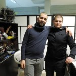 Antonio e Giuseppe fumetteria-fonte foto: immediato.net