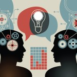 business concepts. the concept of human intelligence. people has an idea. Brain storming. - Brevetti Brescia