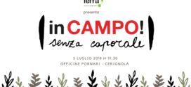 """Associazione Terra! presenta il progetto """"IN CAMPO! Senza caporale"""""""