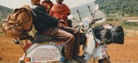 Giorgio Bettinelli, la storia di un grande viaggiatore: ha fatto il giro del mondo in Vespa
