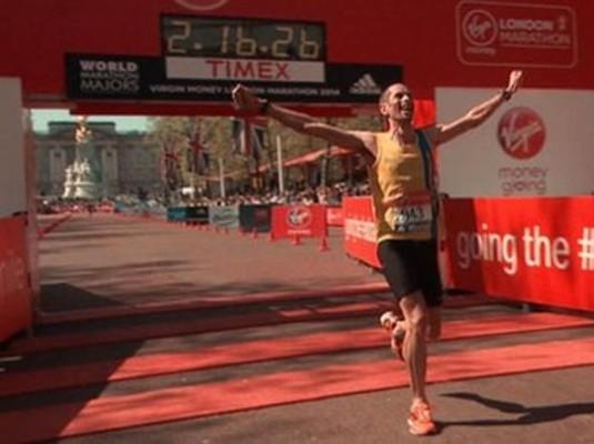 Steve Way, campione di maratona