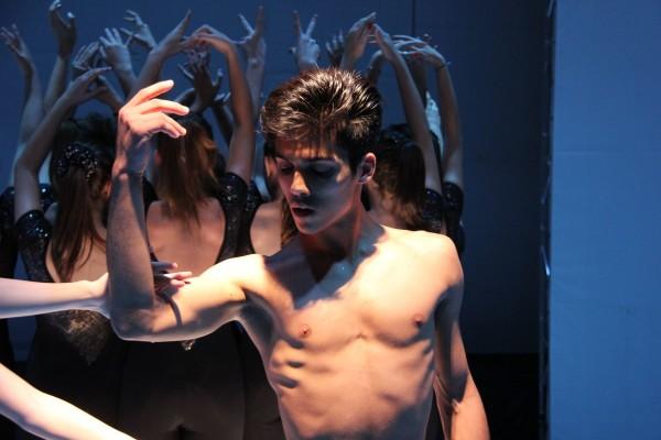 Giuseppe Preziosa, ballerino