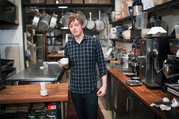 Mike Breach, l'artista del caffè