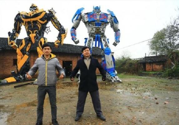 Da agricoltori a costruttori di Transformers
