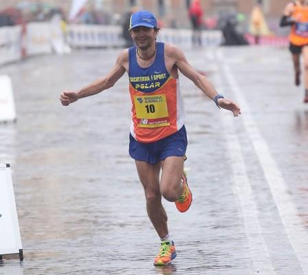 Giorgio Calcaterra alla Maratona di Roma
